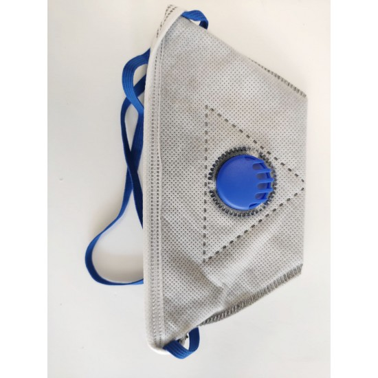 FFP2 respiratory masks with filter - 5 pieces image
